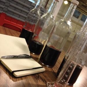 Pinot Noir blending