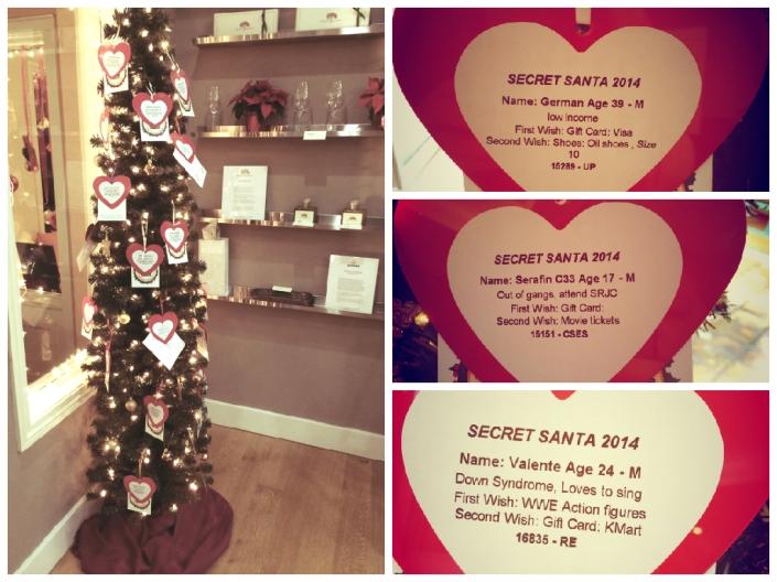 Secret Santa Tree